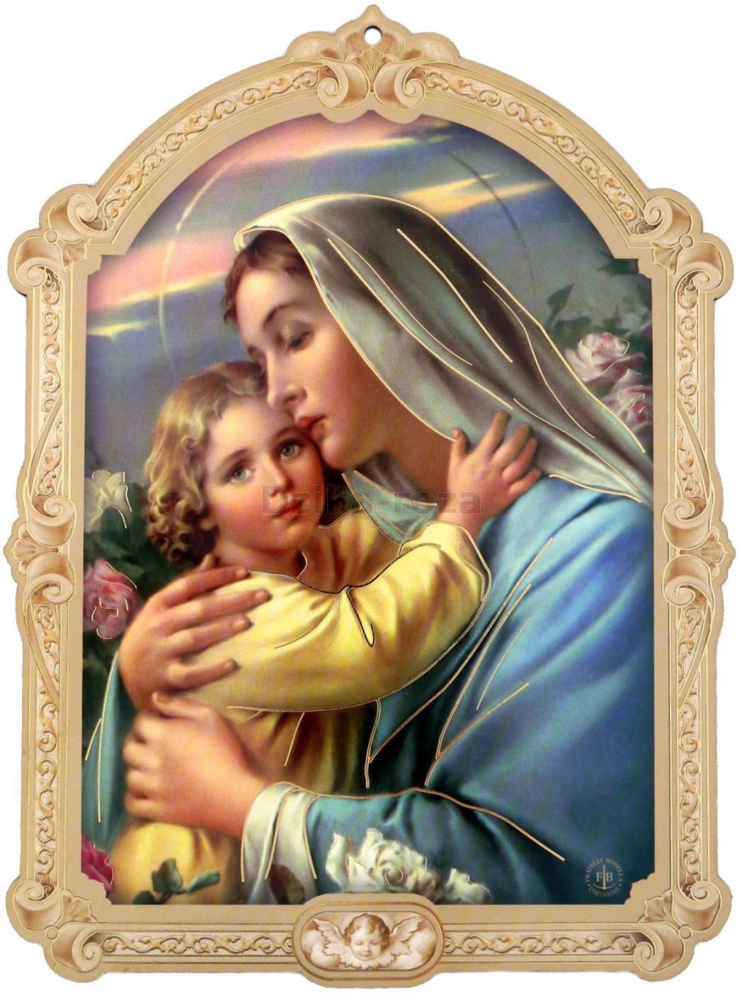 Znalezione obrazy dla zapytania matka boza z dzieciatkiem