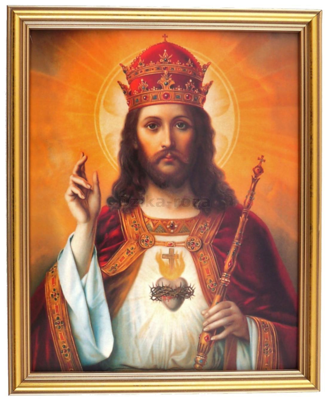 Znalezione obrazy dla zapytania jezus królem