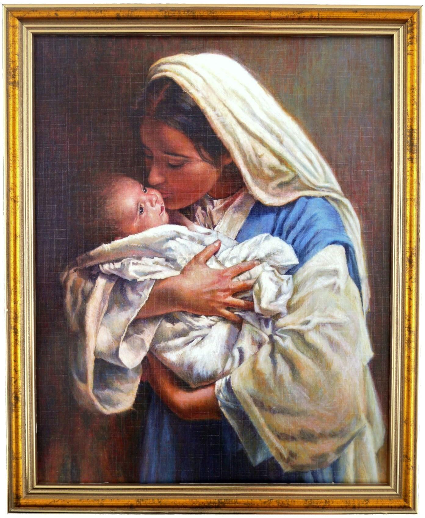 Znalezione obrazy dla zapytania Matka Boża z dzieciątkiem