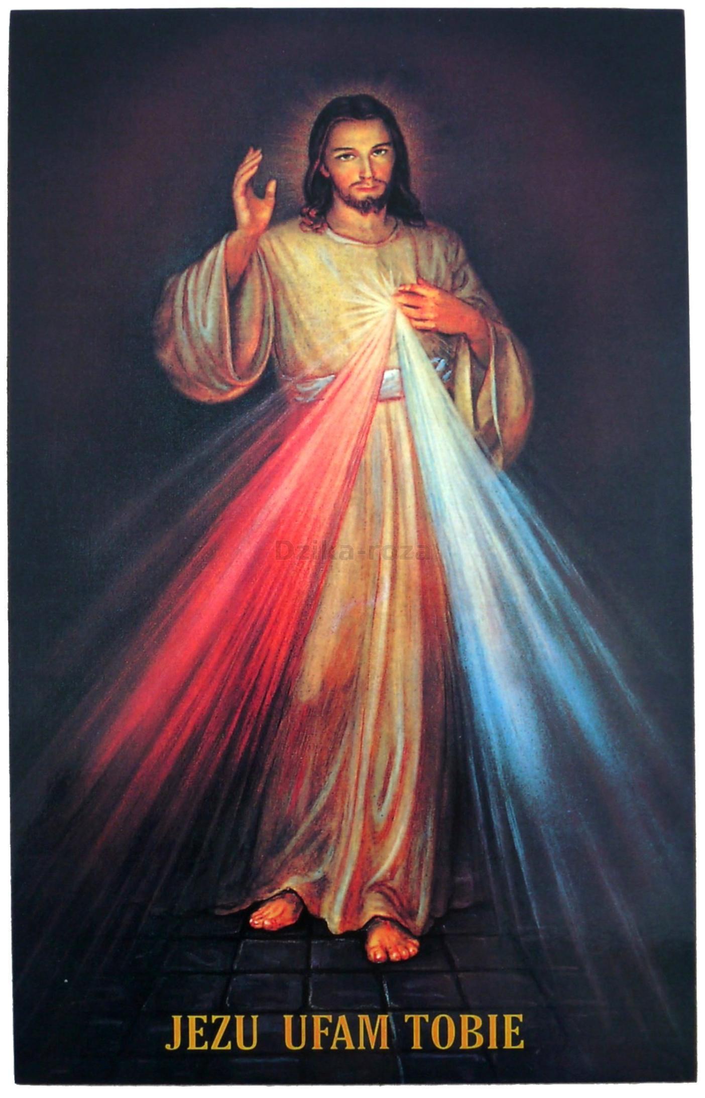 Znalezione obrazy dla zapytania jezus miłosierny jezu