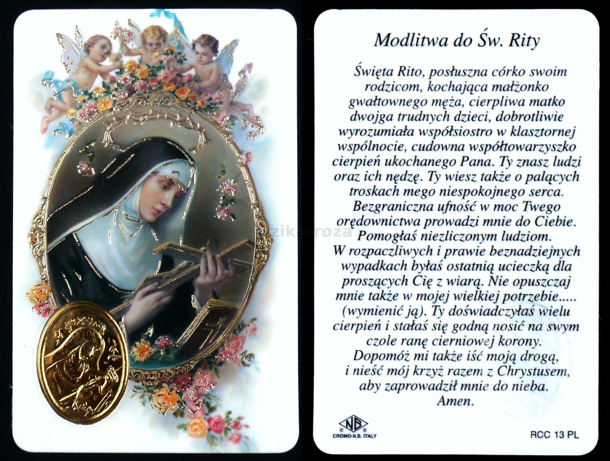 Modlitwa Do św Rity