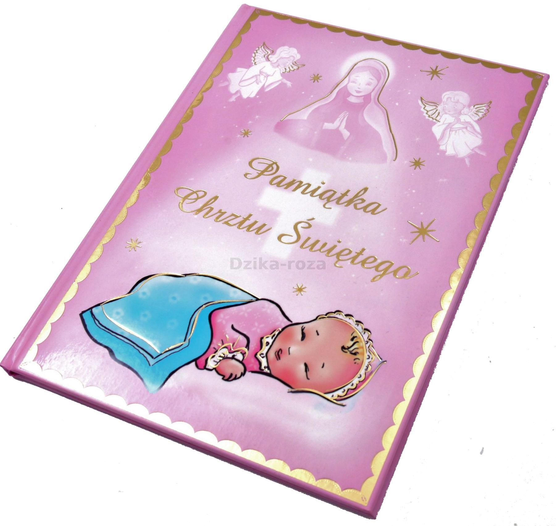 Pamiątka Chrztu świętego Dla Dziewczynki